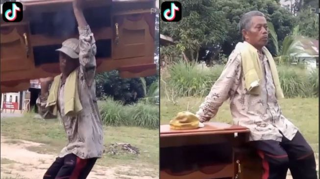 Kisah Penjual Lemari Keliling Sambil Pikul Dagangan Jadi Tamparan Publik